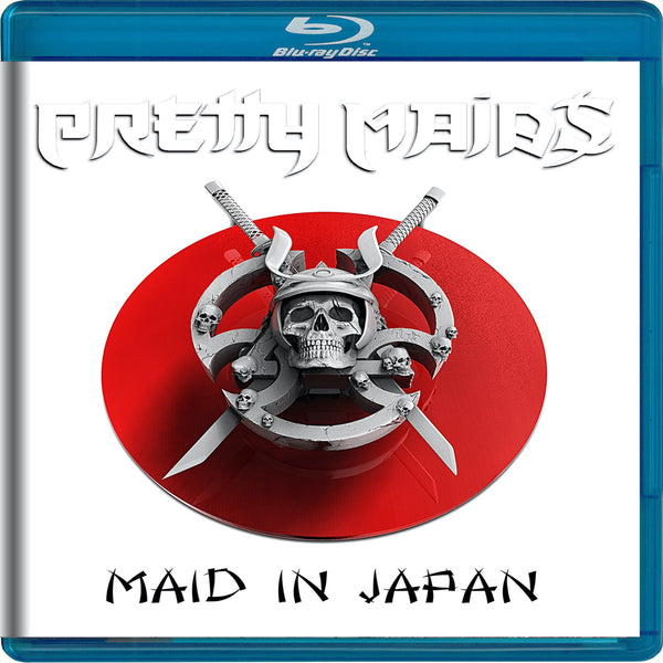 Pretty Maids - Maid In Japan - Future World Live 30th Anniversary Blu-Ray