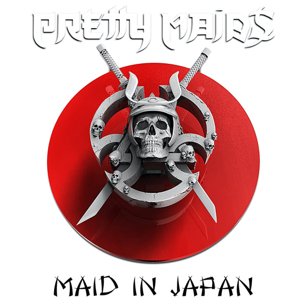 Pretty Maids - Maid In Japan - Future World Live 30th Anniversary CD/DVD (PRESALE 05/22/20)