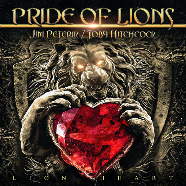 Pride Of Lions - Lion Heart CD (PRESALE 10/09/20)