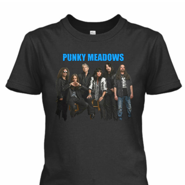 Punky Meadows - PUNKY BAND 2 Women's Tee (Black)