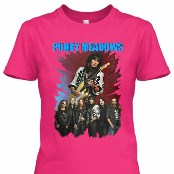 Punky Meadows - PUNKY BAND Women's Tee (Pink)
