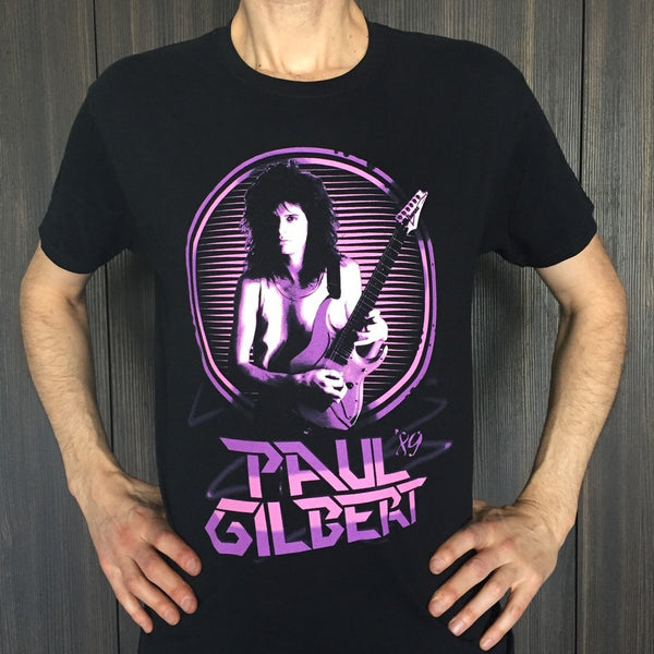 Paul Gilbert - Vintage Purple Big Hair Tour T-Shirt