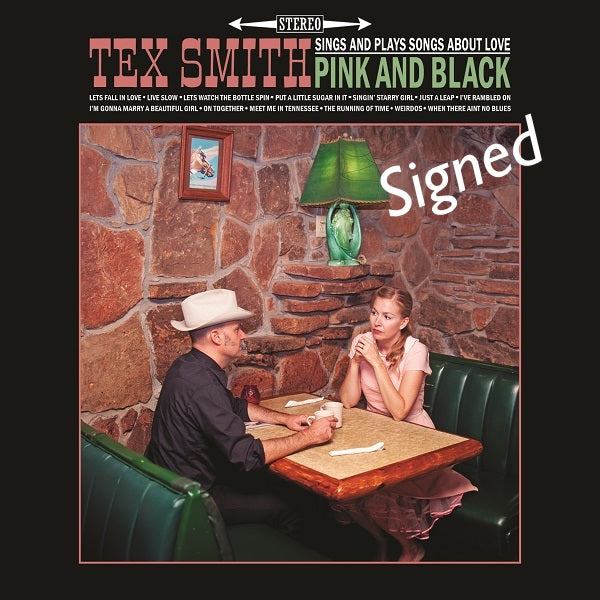 Tex Smith -Signed Pink and Black CD