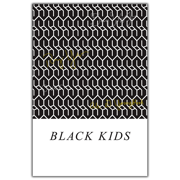 Black Kids - Signed Rookie Poster