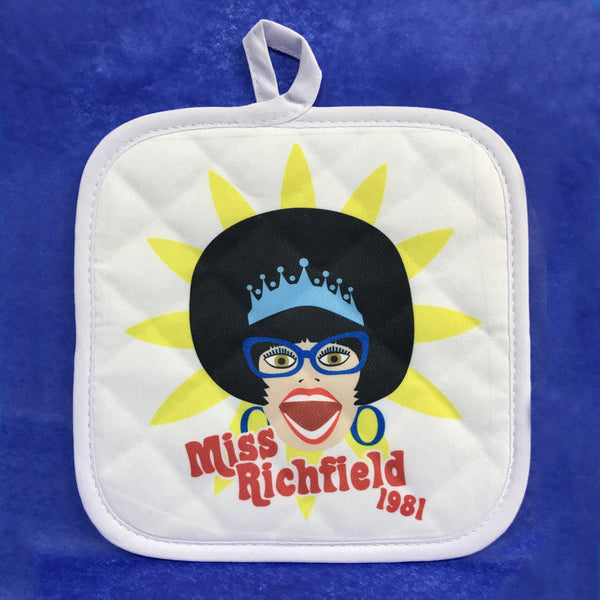 Miss Richfield 1981 - Pot Holder