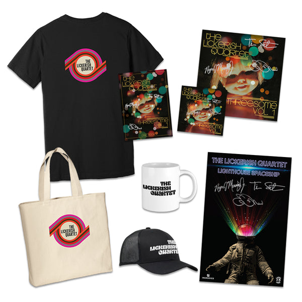 The Lickerish Quartet - Limited Edition Autographed Bundle (PRESALE)
