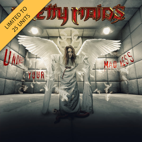 Pretty Maids - Undress Your Madness Silver LP (PRESALE)