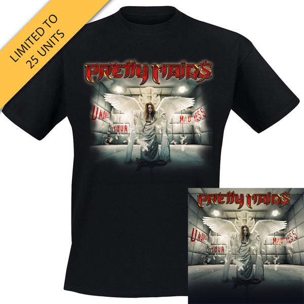 Pretty Maids - Undress Your Madness Silver LP + Album Tee (PRESALE)