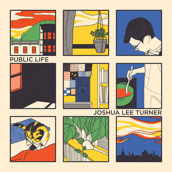Joshua Lee Turner - Public Life Album Artwork Poster