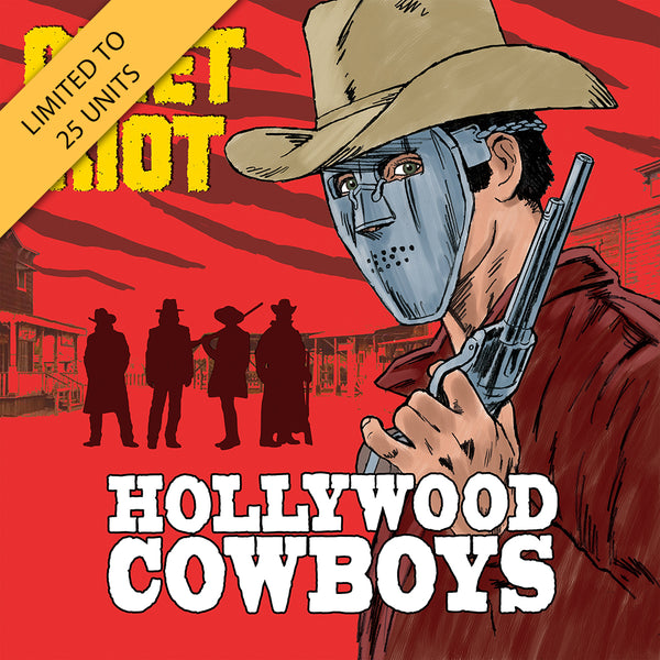 Quiet Riot - Hollywood Cowboys Yellow LP (PRESALE)