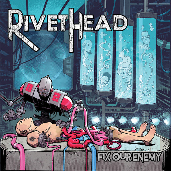 RIVETHEAD - Fix Our Enemy CD (PRESALE)