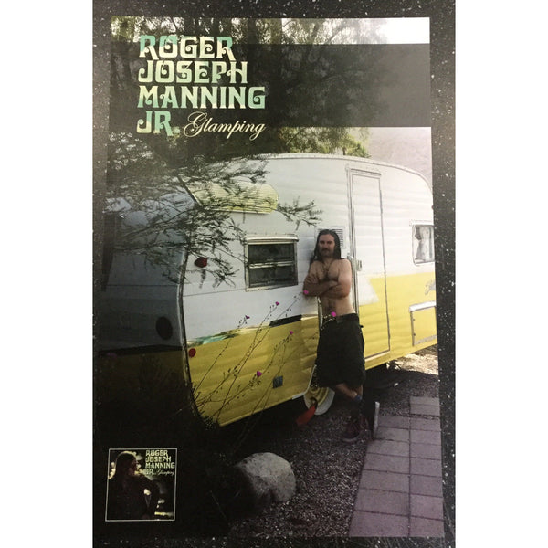 Roger Joseph Manning Jr. - Limited Edition Glamping Litho Poster