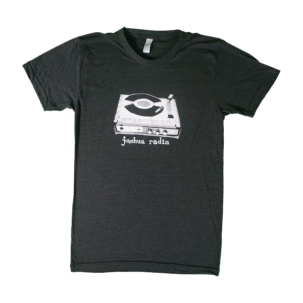 Joshua Radin - Record Player Tee (Black)