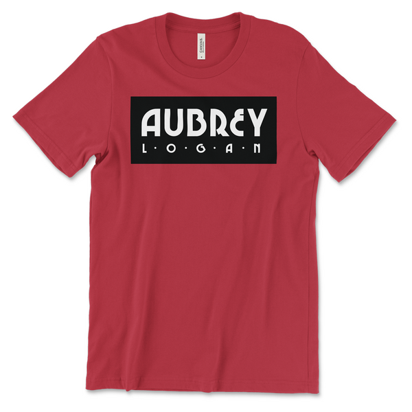 Aubrey Logan - Red Logo Tee (PRESALE 05/21/21)