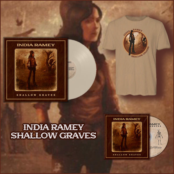 India Ramey - Signed Vinyl Signed CD and Tee Bundle (PRESALE 09/04/2020)