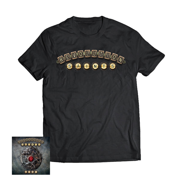 Revolution Saints - Rise CD + Logo Tee (PRESALE 01/24/20)