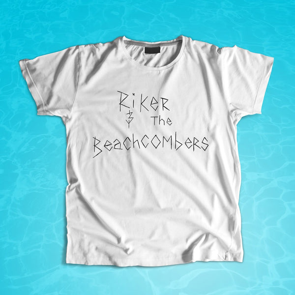 Riker and The Beachcombers - Logo T-shirt (PRESALE)