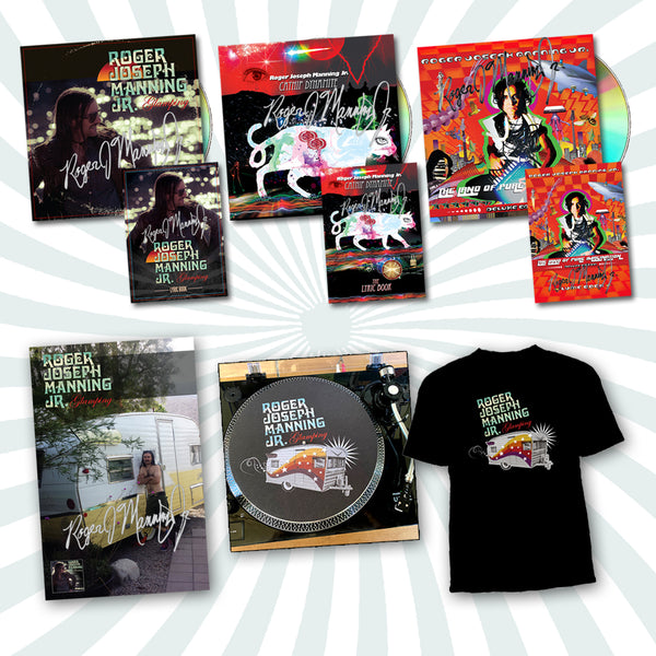 Roger Joseph Manning Jr. - Deluxe Bundle #2 (PRESALE FALL 2020)