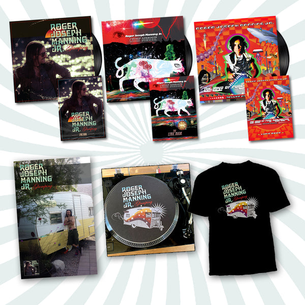 Roger Joseph Manning Jr. - Deluxe Bundle #3 (PRESALE FALL 2020)