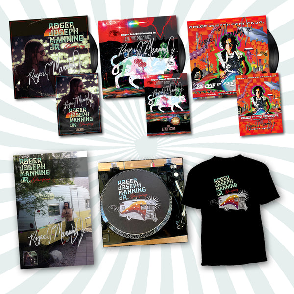 Roger Joseph Manning Jr. - Deluxe Bundle #4 (PRESALE FALL 2020)