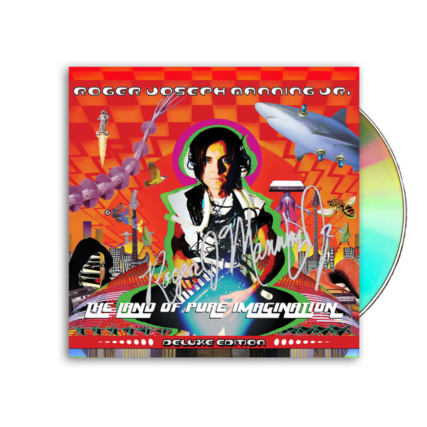 Roger Joseph Manning Jr. - Signed CD Reissue of Land of Pure Imagination (PRESALE FALL 2020)
