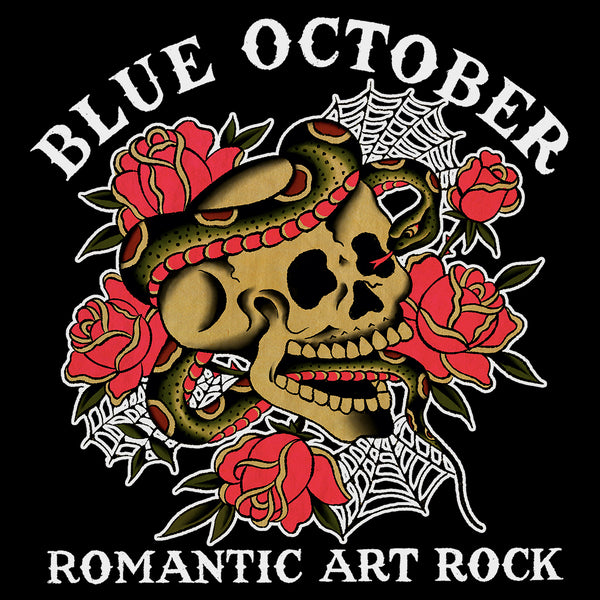 Blue October - Romantic Art Rock Sticker