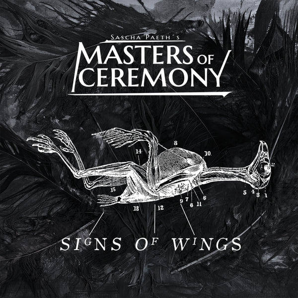 Sascha Paeth's Masters Of Ceremony - Signs Of Wings CD (PRESALE)