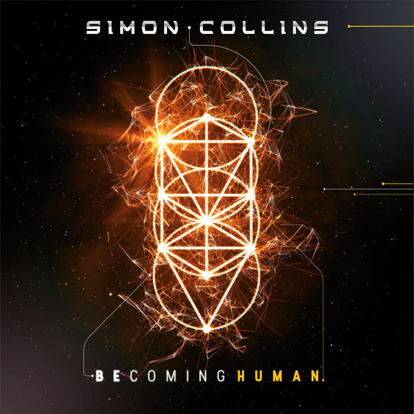 Simon Collins - Becoming Human CD (PRESALE 09/04/20)