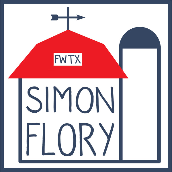 Simon Flory - Feed Store Logo Sticker