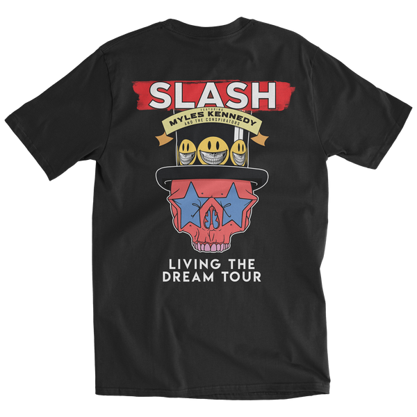 Slash Featuring Myles Kennedy & The Conspirators - Living The Dream Tour Shirt