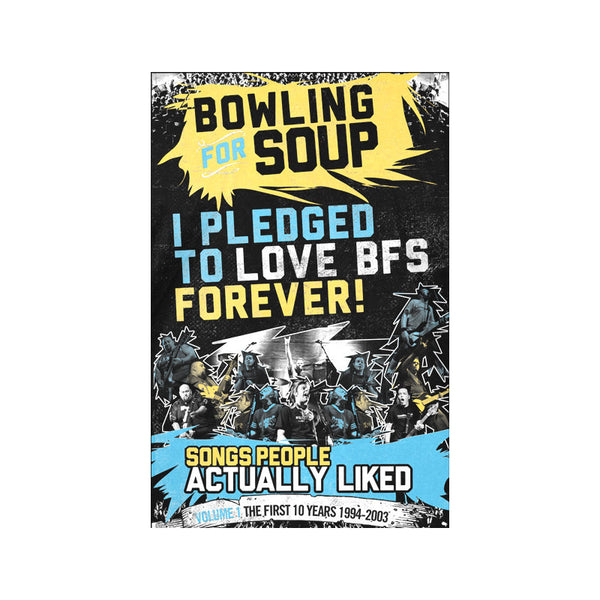 Bowling For Soup - SPAL Pledge Poster (Signed)