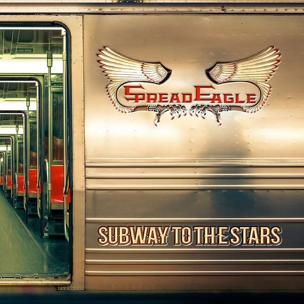Spread Eagle - Subway To The Stars Signed CD
