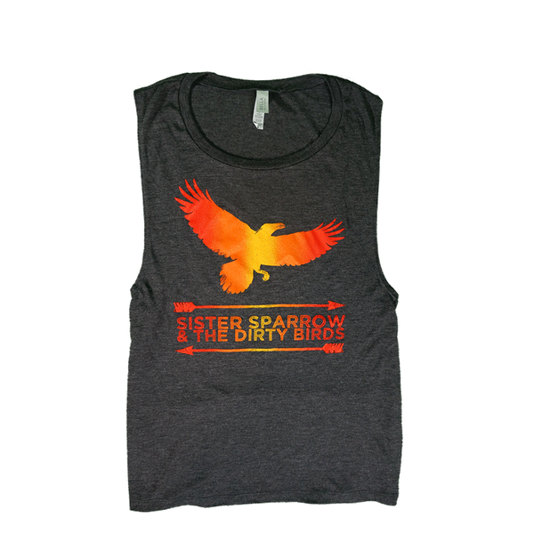 Sister Sparrow & The Dirty Birds - Weather Below Womens Tank