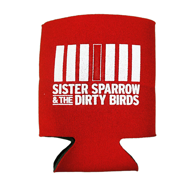 Sister Sparrow & The Dirty Birds - Logo Koozie