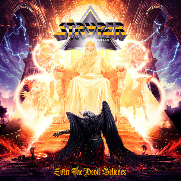 Stryper - Even The Devil Believes CD (PRESALE 09/04/20)