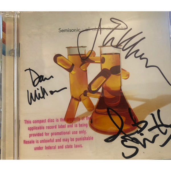 All About Chemistry Signed CD — Available in four colors (Blue, Orange, Red, Pink), only 16 copies left in stock!