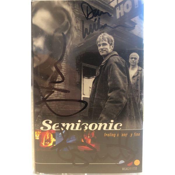 Semisonic - Feeling Strangely Fine Original Run Signed Cassette