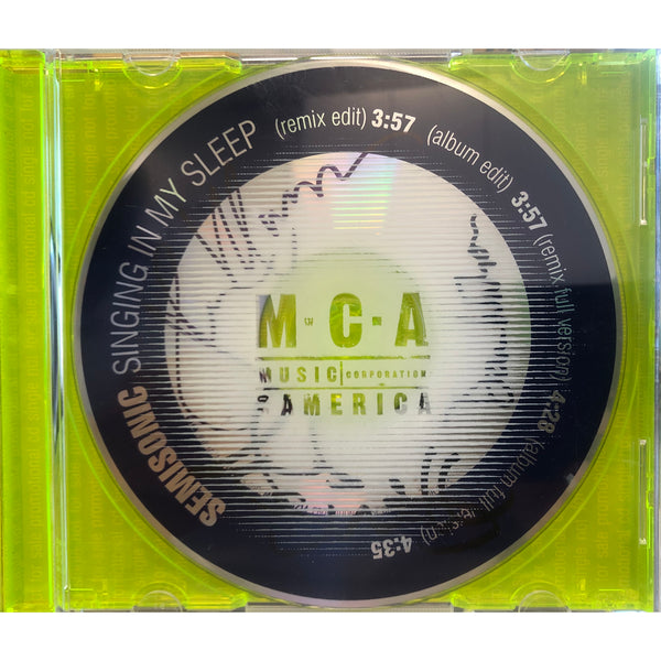 """Singing In My Sleep"" Single MCA Version Signed — 4 Tracks, only 8 copies left in stock!"