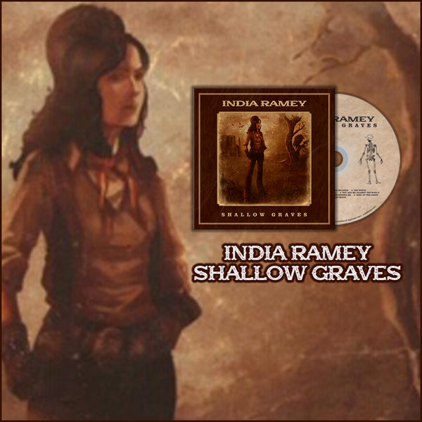 India Ramey - Signed Shallow Graves CD (PRESALE 09/04/2020)