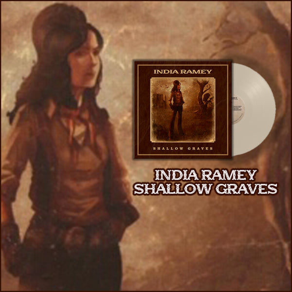 India Ramey - Signed Shallow Graves Vinyl (PRESALE)