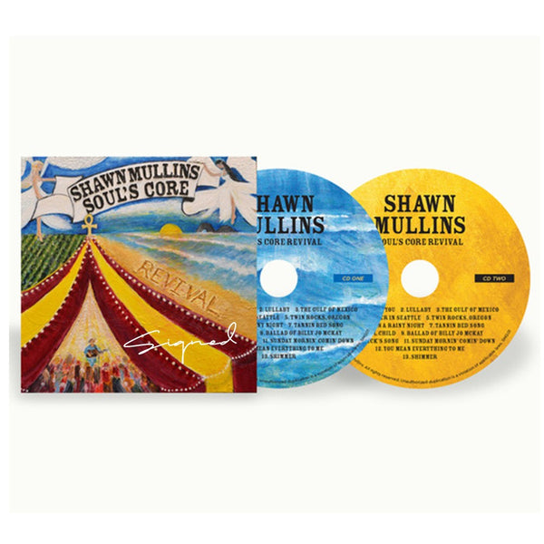Shawn Mullins - Signed Double CD Soul's Core Revival