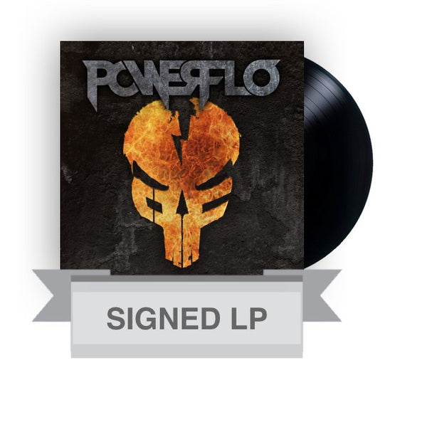 Powerflo - Signed Standard Vinyl Black