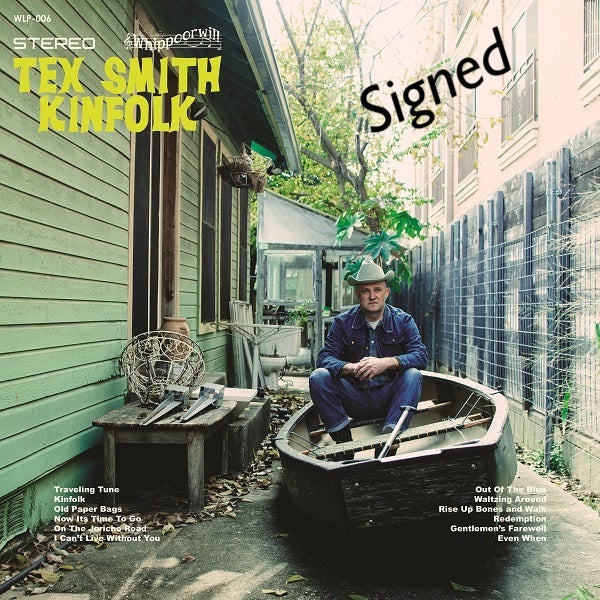 Tex Smith - Signed Kinfolk Vinyl
