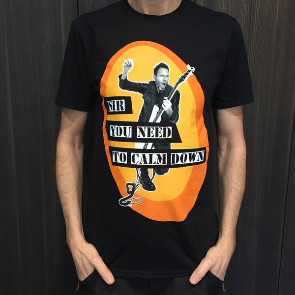 Paul Gilbert - Sir, You Need to Calm Down T-Shirt (North American Dates)