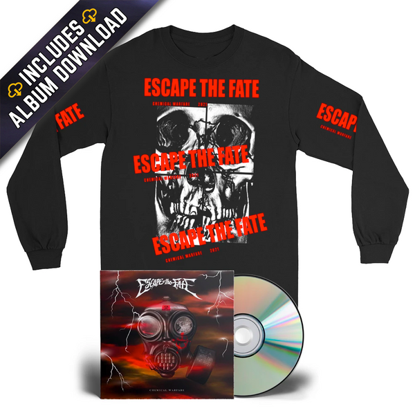 Escape The Fate - Chemical Warfare Bundle #3 (PRESALE 04/16/21)