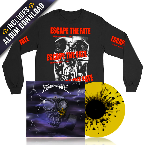 Escape The Fate - Chemical Warfare Bundle #4 (PRESALE 04/16/21)