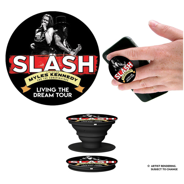 Slash Featuring Myles Kennedy & The Conspirators - Living The Dream Tour PopSocket