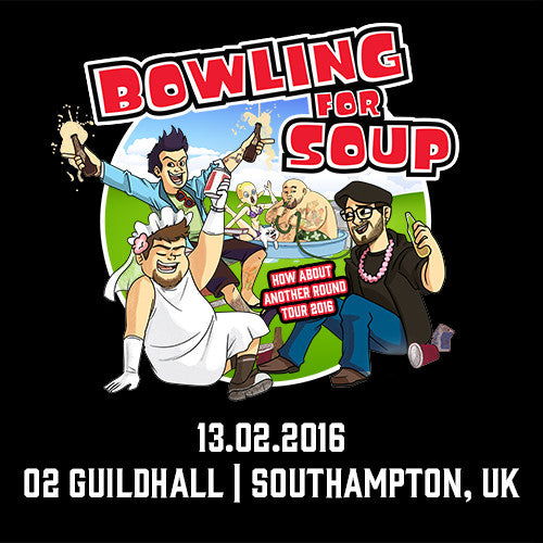 Bowling For Soup - UK Live Show Download - 13/02/16 Southampton