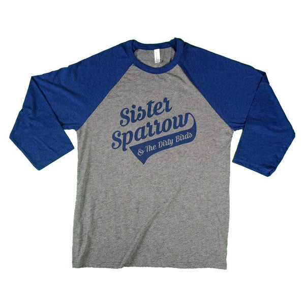 Sister Sparrow & The Dirty Birds - Party Fowl Baseball Tee
