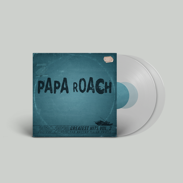 Papa Roach - Greatest Hits Vol. 2 The Better Noise Years Translucent Vinyl (PRESALE 03/19/21)